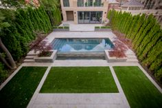 GORGEOUS is the perfect way to describe this EasyTurf artificial grass installation! www.easyturf.com l modern l design l backyard l outdoor living l fake grass