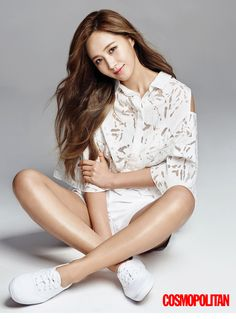 2015.05, Cosmopolitan, Girls' Generation, Yuri
