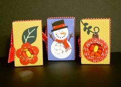 Tic tac boxes - decorated.