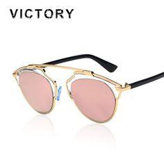 Cat Eye Mirror Celebrity Sunglasses Classic Superstar Rihanna Women Or Men Italy Real UV400 Sun Glasses Brand Design Female Male