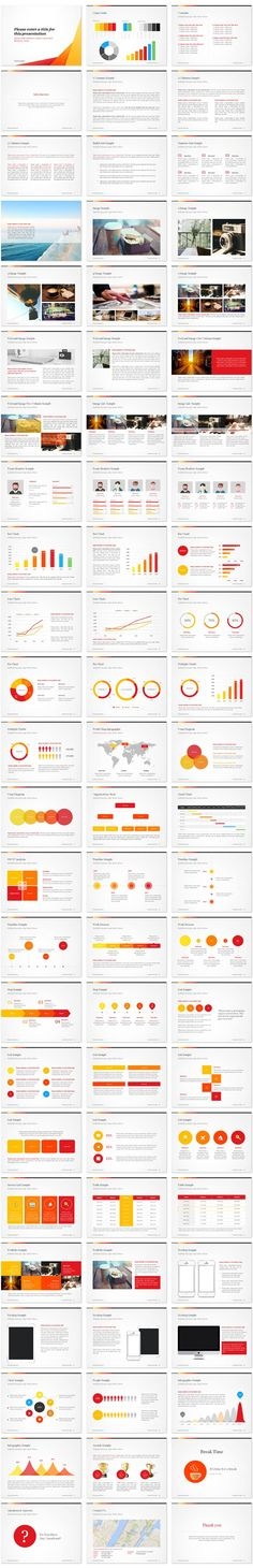 Professional, Creative & Clean design PowerPoint Presentation Templates