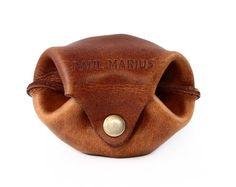 L'ESCARCELLE cartera de cuero, monedero estilo vintage PAUL MARIUS Vintage & Retro