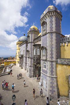 Palacio Da Pena, Portugal by ARD