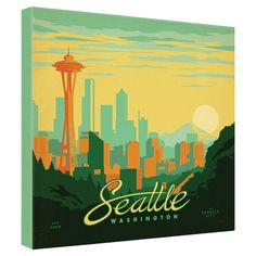 Found it at Wayfair - Seattle Canvas Art by Anderson Designhttp://www.wayfair.com/daily-sales/p/See-the-Sights%3A-Travel-Themed-Wall-Art-Seattle-Canvas-Art-by-Anderson-Design~NDY9373~E12903.html?refid=SBP.rBAZEVNVWcwYhSRdP2-6ApUkY5ySmErCvdKKm2pl0qI
