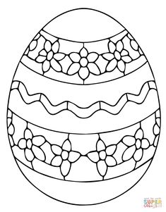 Ukrainian Easter Egg Coloring Page From Category Select 27743 Printable Crafts Of Cartoons Nature Animals Bible And Many More
