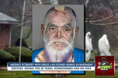 Scientist Missing For Over 20 years Found Living Inside Secret LSD Drug Lab Hidden in Basement? | Paranormal | See this & more at: http://twodaysnewstand.weebly.com/before-its-news