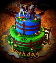 Horse cake - bottom layer only