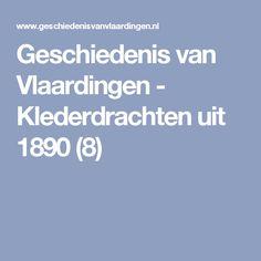 Geschiedenis van Vlaardingen - Klederdrachten uit 1890 (8)