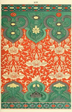 A stunning collection of traditional Chinese patterns. These beautiful copyright-free oriental designs are painted from studding Chinese ornaments. Chinese Design, Chinese Art, Chinese Painting, Thai Design, Pattern Art, Pattern Design, Thai Pattern, Textures Patterns, Print Patterns