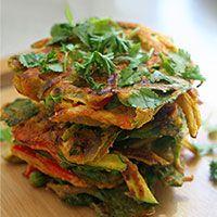 Chickpea Veggie Fritters (Gluten Free + Vegan)