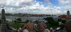 De vuelta en #Tailandia hoy os dejamos un skyline de #Bangkok #elviajemehizoami