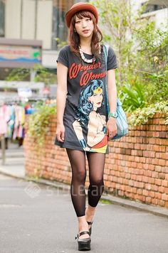 Wonder Woman t-shirt dress