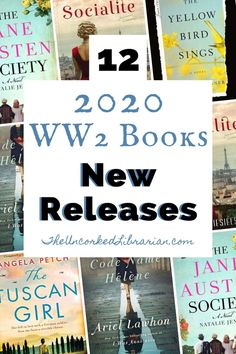 Discover 12 upcoming 2020 books that we are most anticipating this winter and spring New releases WWII novels reading list. Great Books To Read, Good Books, Ya Books, Books That Are Movies, Story Books, Historical Fiction Books, Historical Romance, Books For Teens, Teen Books