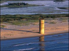 WW2 submarine watch tower.., Delaware beaches