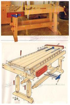 Building a Workbench - Workshop Solutions Projects, Tips and Tricks | WoodArchivist.com