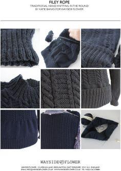 13e5d0cfa2ef93 23 Best Gansey Patterns - Fishermans Gansey Knitting Patterns images ...