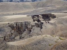 Yawning hole opens in Central Wyoming thanks to wet spring