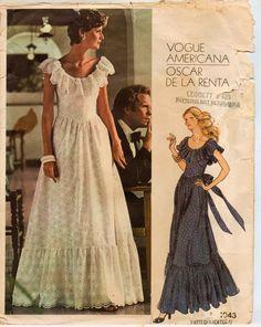 Prom dress 70s quattro table