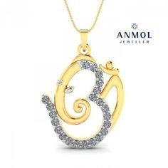 Personalized Jewellery in Platinum, Gold, & Diamonds. Ganesh Pendant, Om Pendant, Diamond Pendant, Cow Skull, Wedding Ring Designs, Religious Jewelry, Engraved Rings, Vintage Diamond, Diamond Wedding Rings
