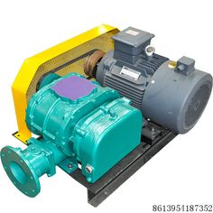 Fish Pond Aerator Oxygen Feeded Roots Type Blower and Pump