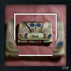 """Coach Wallet Plenty of compartments. No damage. Measures 4"""" tall, 5 1/2"""" wide. Coach Bags Wallets"""