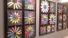 a faithful attempt: Personalized Colour Wheels Middle School Art, Art School, Black Construction Paper, School Art Projects, Art Lessons Elementary, Chalk Pastels, Black Paper, Drawing For Kids, Color Theory
