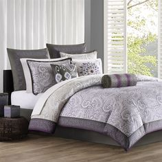 The Marrakesh Bedding Collection Is A Beautiful Modern Abstract Paisley  Pattern Printed On Soft, 100