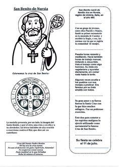 La Catequesis (El blog de Sandra): Recursos Catequesis San Benito de Nursia