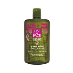 Kiss My Face Peaceful Patchouli Bath & Shower Gel -- 16 fl Vitamin s