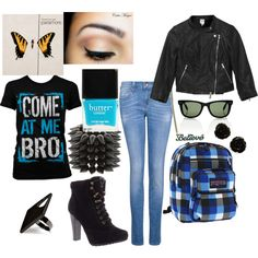 school ish!, created by marmar-loves-1d on Polyvore