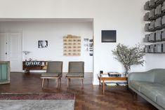 Una vivienda de diseño, con toques midcentury, en Sao Paulo | Etxekodeco