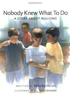 Nobody Knew What to Do: A Story about Bullying (Concept Books (Albert Whitman)):Amazon:Books
