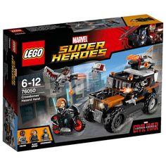 Lego Super Heroes, Crossbones' giftige tyveri