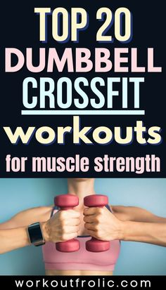 Check out this extensive list of 20 Dumbbell Crossfit Workouts that will help you boost your endurance and build your strength like never before! Box Jump Workout, Jumping Jacks Workout, Dumbbell Workout, Air Squats, Jump Squats, Mountain Climber Exercise, Burpee Box Jumps, Functional Workouts, Single Leg Deadlift