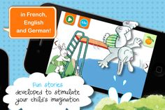 abricot: interactive magazine by Fleurus; available in English, French, and German; highly recommended by Delphine Early French, French Kids, French Friend, French Resources, Illustrations, Learn To Read, My Children, Itunes, German