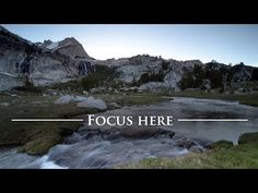 Getting Good Focus and Depth of Field in Your Landscape Photos -- #photography #phototips