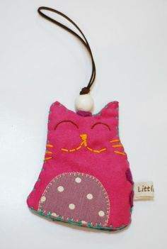 Cute smile cat key cover, pink cat key ring, cat key cover, key fob, key fob cover on Etsy, $16.06 AUD