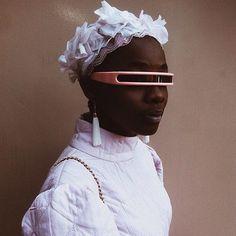 Pink story. Tebogo Ribane by @wandalephoto