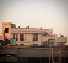 My Gary City #Sunrise #Tehran #Iran #2016 #light #City #Building #imperfection