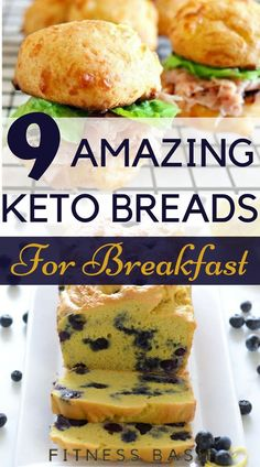 Simple keto bread recipes which are damn important for a ketogenic diet. You love to be in ketosis then these keto breads you must try.