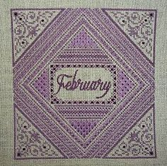 Northern Expressions Needlework - Birthstone Series - February Amethyst – Stoney Creek Online Store