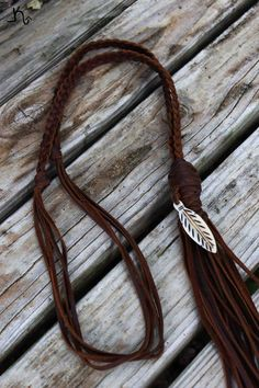 The Flyin' Feather Necklace is now available online at www.leatherandvodka.com! #theoriginal #leatherandvodka