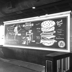 Artisanal Burger Mural on Behance
