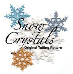 Snowflake tatting pattern from Etsy
