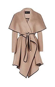 60/%! khujo Damen Mantel CONDA Beige Fashionista Look SALE