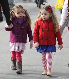 Sarah Jessica Parker Walks Her Kids To School in NYC