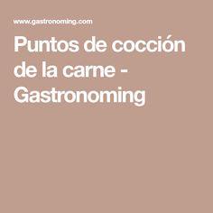 Puntos de cocción de la carne - Gastronoming