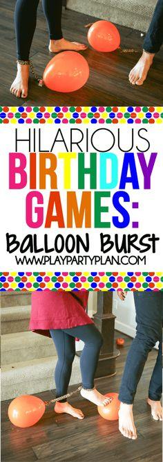 69 Ideas Party Games For Teens Indoor Birthday For 2019 Birthday Party Games For Kids, Birthday Activities, 13th Birthday Parties, Party Activities, Funny Birthday, Birthday Crafts, Party Crafts, Sleepover Party, Slumber Parties