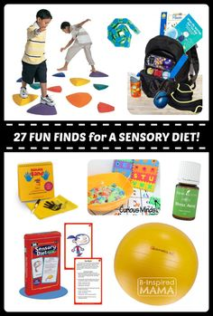 27 Fun Finds for Your Child's Sensory Diet at Fun Finds Friday - Perfect for kids with Sensoyr Processing Disorder, Sensory Challenges, or fun for ANY KIDS!  - B-Inspired Mama