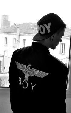 Boy London / Street Style / Infamous/ A-1 Bomber Jacket/